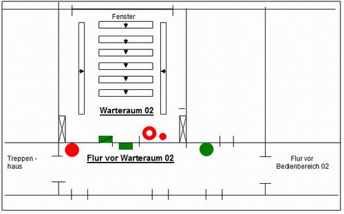 skizze kfz kreuzberg warteraum02. Black Bedroom Furniture Sets. Home Design Ideas